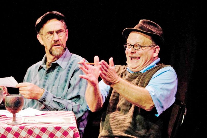 'Boots, Buckets and Barrows' brings humor to Kidron
