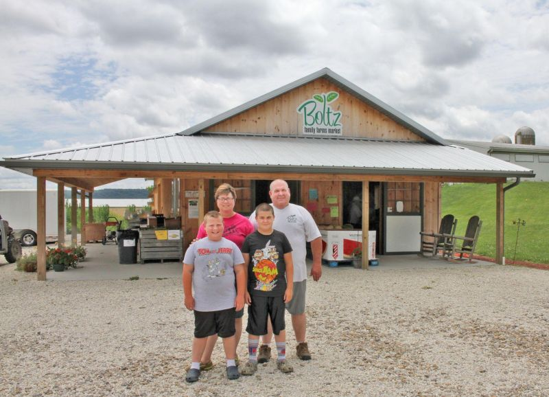 Farm-to-table fresh from the Boltz family