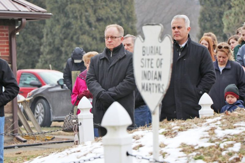 Gnadenhutten Remembrance Day observed in the village
