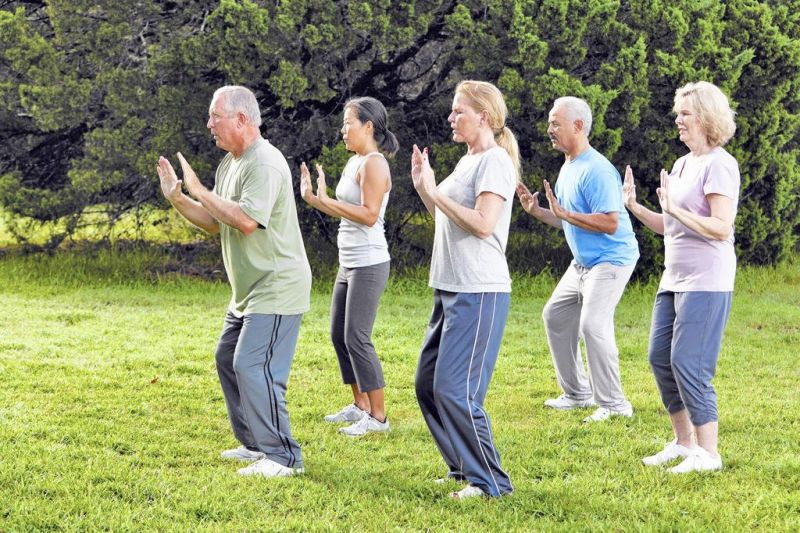 Tai chi on the Square returns to downtown Millersburg