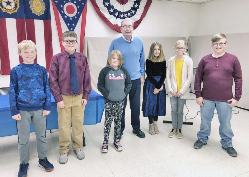 Veterans Day earned new meaning to Millersburg students